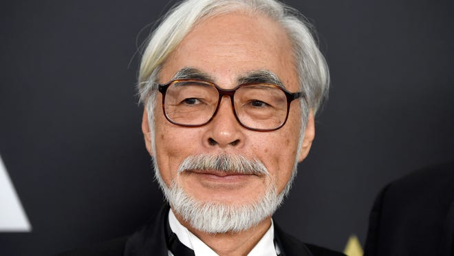 HOLLYWOOD, CA - NOVEMBER 08:  Honoree Hayao Miyazaki attends the Academy Of Motion Picture Arts And Sciences' 2014 Governors Awards at The Ray Dolby Ballroom at Hollywood & Highland Center on November 8, 2014 in Hollywood, California.  (Photo by Frazer Harrison/Getty Images) ORG XMIT: 521056793 ORIG FILE ID: 458663346