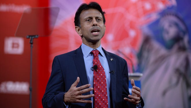 Louisiana Gov. Bobby Jindal speaks at the Conservative Political Action Conference on Feb. 26, 2015. (H. Darr Beiser, USA TODAY)