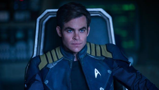"""Chris Pine plays Kirk in """"Star Trek Beyond."""""""