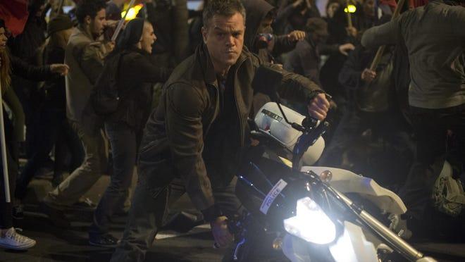 "Matt Damon stars in ""Jason Bourne."""