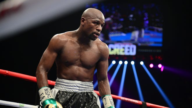 The Floyd Mayweather-Andre Berto fight will do between 550,000-600,000 PPV buys. (Photo: Joe Camporeale, USA TODAY Sports).