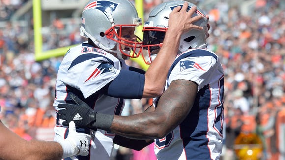 USP NFL: NEW ENGLAND PATRIOTS AT CLEVELAND BROWNS S FBN USA OH