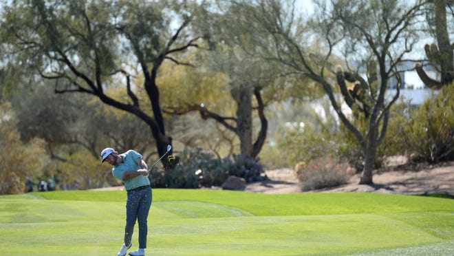 Grayson Murray, shown competing in the Waste Management Phoenix Open earlier this year, compared the raucous crowd at the 17th hole at the Honda Classic to the golf tournament held in TPC Scottsdale. The 17th was where Murray made his hole-in-one on Saturday.