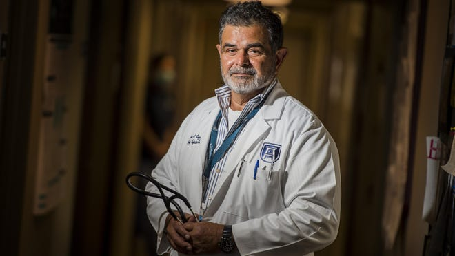 Jose Vazquez, chief of the Division of Infectious Diseases at Augusta University, photographed at AU Wednesday morning September 9, 2020 in Augusta, Ga.