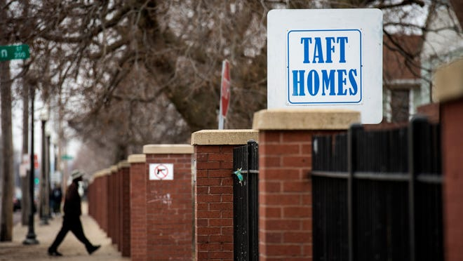 Taft Homes, a Peoria Housing Authority property, is shown in a file photo.