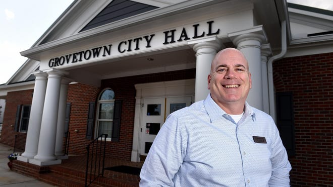 Grovetown city administrator John Waller has resigned over delays in completing the city's new $25 million wastewater treatment plant.
