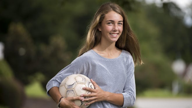Kenzie Horton photographed near her home in Evans, Ga., Thursday afternoon Sept. 17, 2020