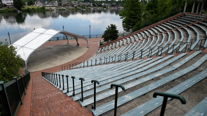 The Jessye Norman Amphitheatre on the Riverwalk in Augusta, Ga., Friday afternoon June 19, 2020 .