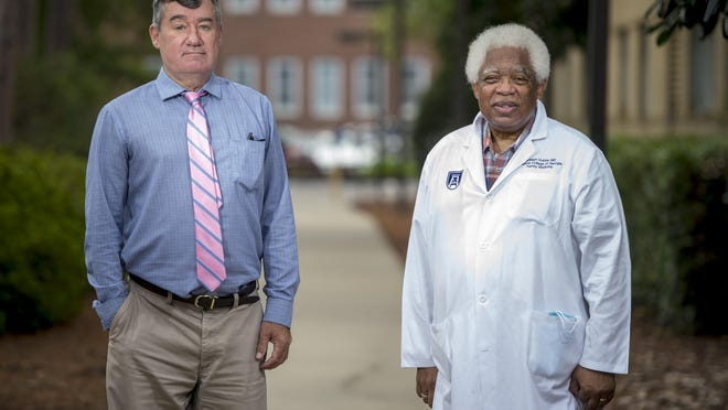 Dr. Steven S. Coughlin, left, interim Chief of the division of Epidemiology at the Augusta University Department of Population Health Science and Dr. Joseph Hobbs, chairman emeritus of the Medical College of Georgia Department of Family Medicine, published an op-ed about the racial disparity in Covid-19 cases.