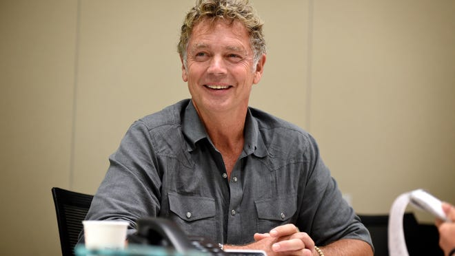 """Actor John Schneider was in Augusta in early July filming scenes for the movie """"Tulsa."""""""