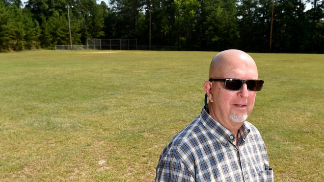 Ronald Houck, Planning and Development Manager for Auguata Recreation and Parks, photographed at Jamestown Park where several improvements are planned.  Photographed Thursday morning July 12, 2018.