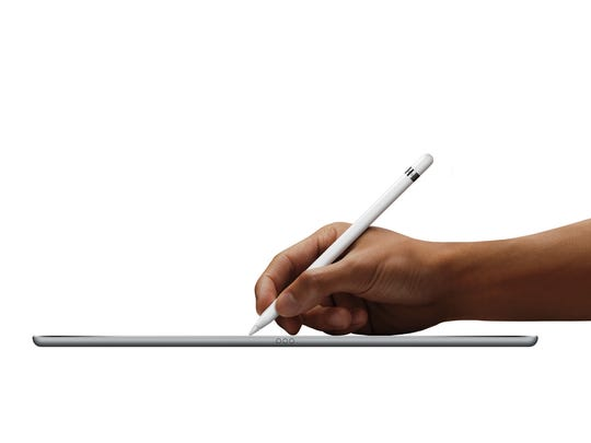 You can write on iPad Pro with Apple Pencil.