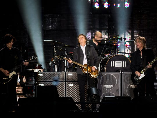 The first Firefly Music Festival after Red Frog Events teamed up with AEG was held in 2015 and the concert giant delivered the festival's biggest headliner yet: Paul McCartney.