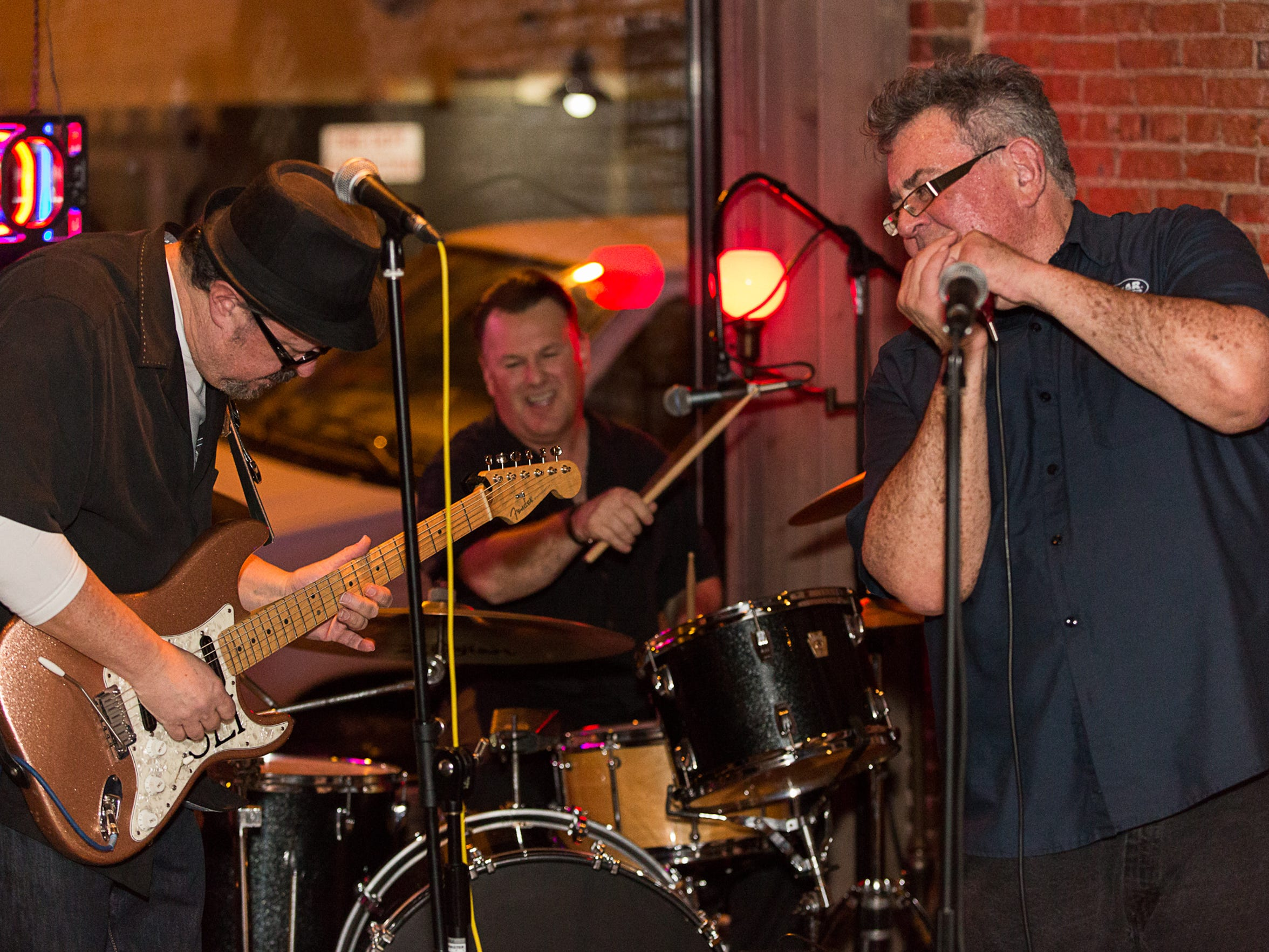 Dr. Harmonica / Mark Kenneally and Rockett 88 are one of the groups playing Vet Fest.