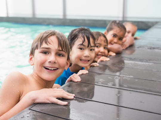 Swimming lessons are good exercise and help keep kids safe around pools.