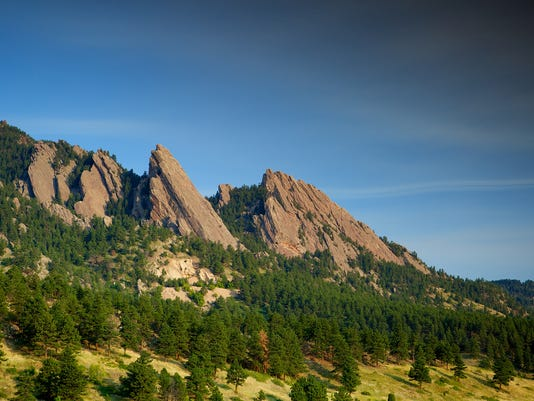 Flatirons Side View