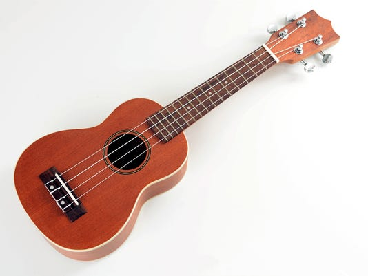 A picture of a ukulele