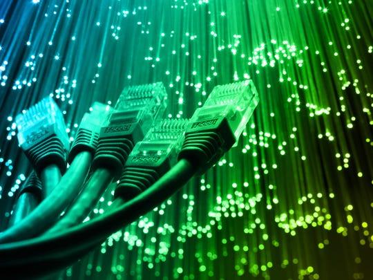 Network cables and fiber optics