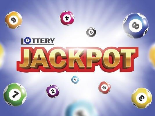 Lottery Jackpot background.