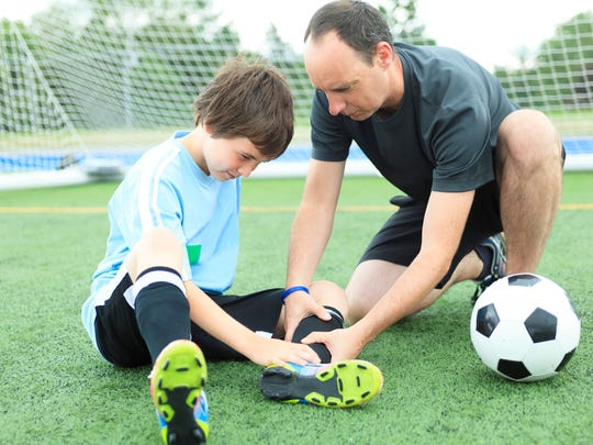 The injury rate is rising in youth soccer.
