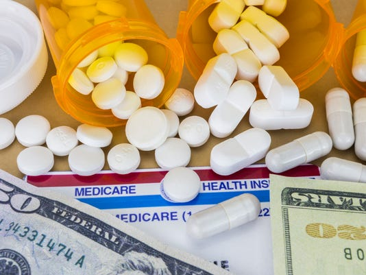 capsules up ticket dollar, concept of health copay