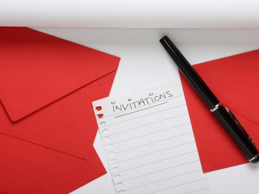 Preparing to Write Invitations