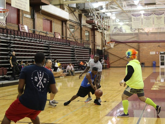 Playing basketball @ Tully Gym on November 18, 2016 in Tallahassee, FL