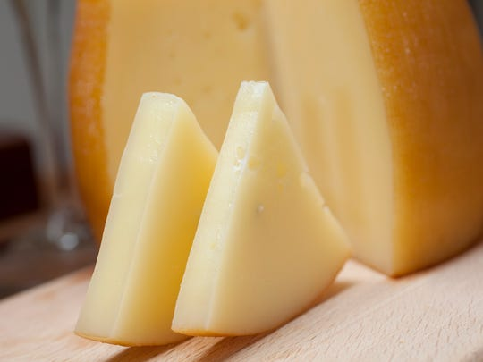 Nutty buttery Idiazabal, a sheep's milk cheese that's a specialty of the Spanish Basque Country, is an ideal cheese for a holiday party platter.