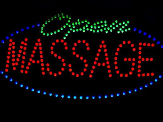 Massage sign
