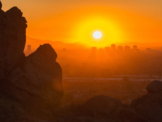 Phoenix, Arizona Sunset