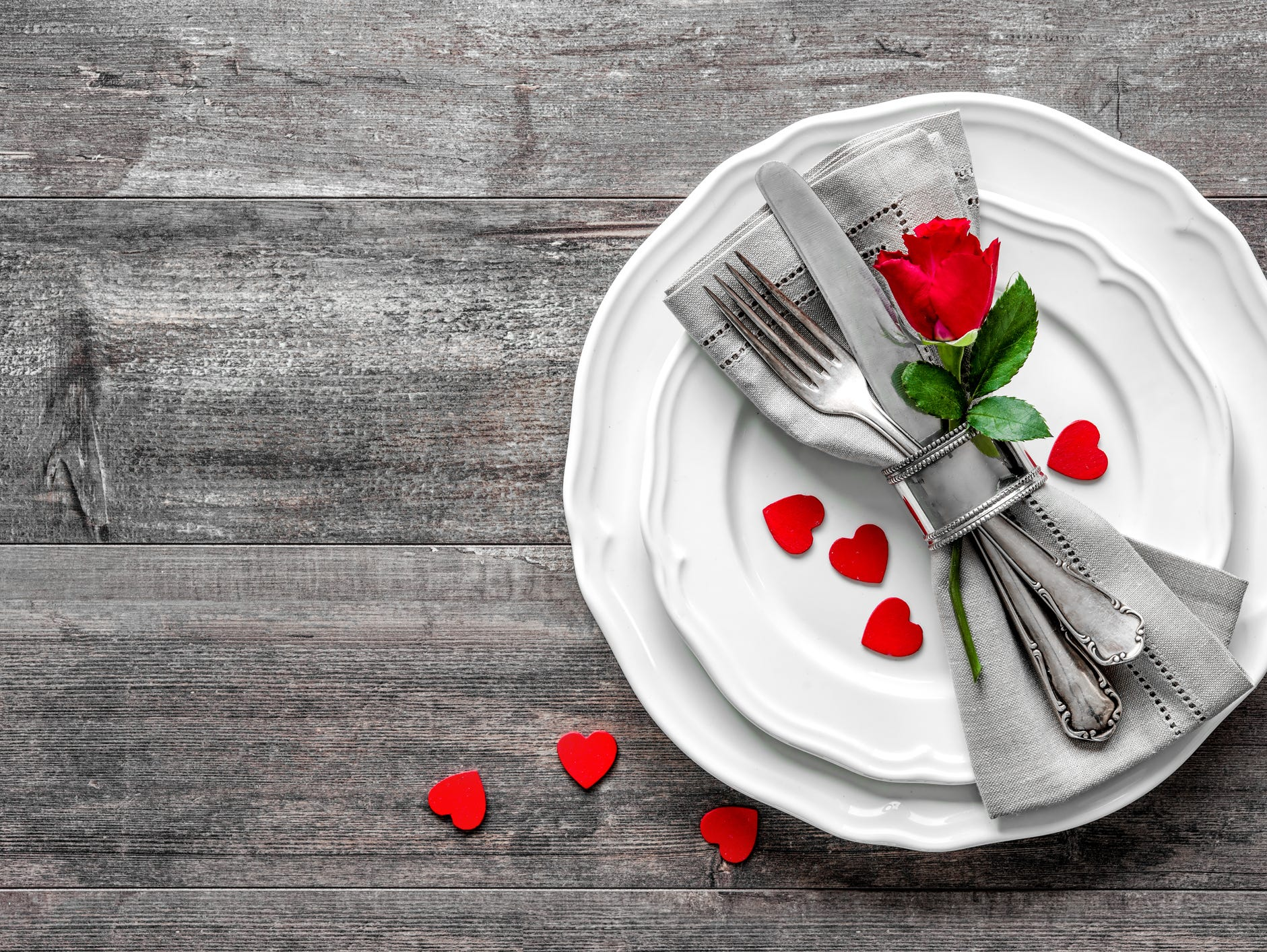 Roses are red, violates are blue, does Valentine's dinner on us sound good to you? Enter from