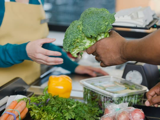 Fresh produce is available all year at grocery stores.