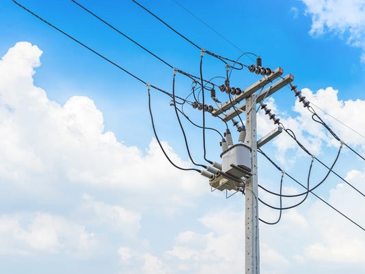 #stockphoto Power Line Stock Photo