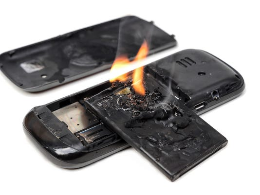 Mobile Phone Battery Explosions
