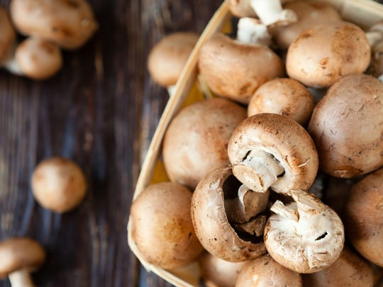 Mushrooms are packed with Vitamin D, proven to boost