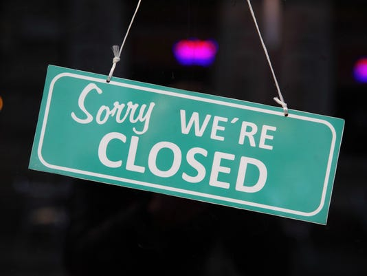 Generic Stock Image Closed sign