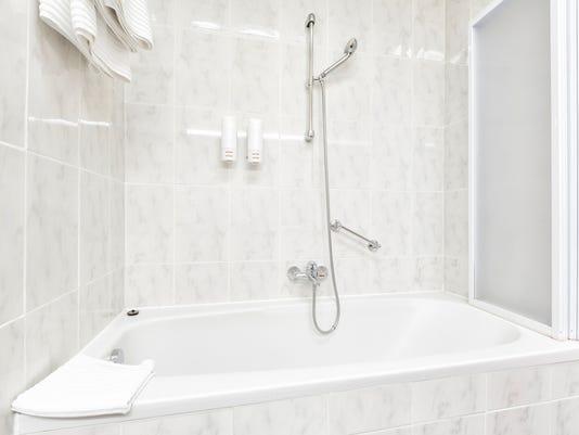 #stockphoto Bathroom shower stock photo