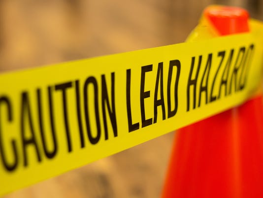 Caution Lead Hazard Warning