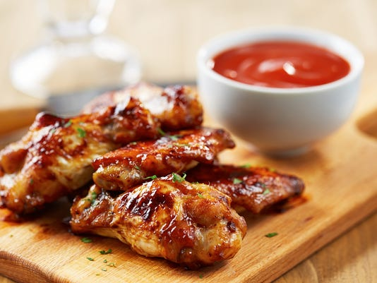 #stock Chicken wings Stock Photo