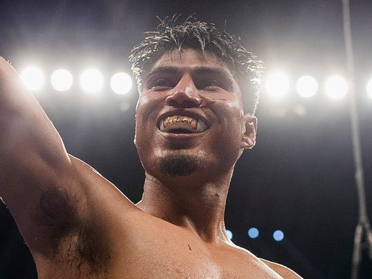 After winning a world title belt at 135 pounds, Mikey Garcia will face IBF junior welterweight titleholder Sergey Lipinets on Feb. 10.