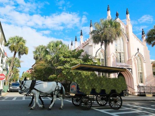 Charleston South Carolina Horse Carriage