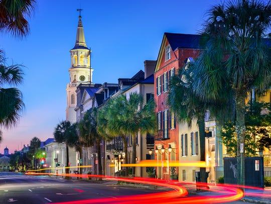 Charleston, South Carolina, has so many sites to visit.
