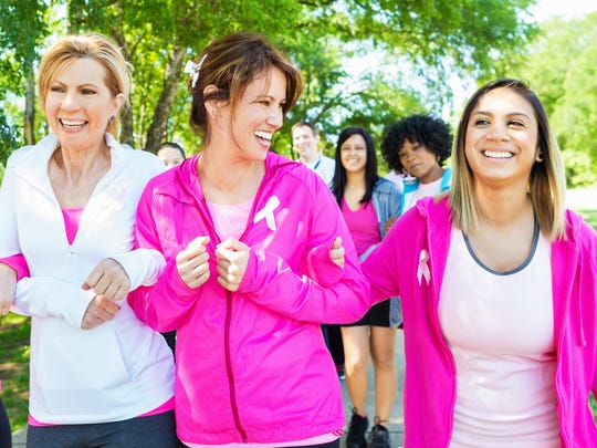 In honor of Breast Cancer Awareness Month, take charge of your health.