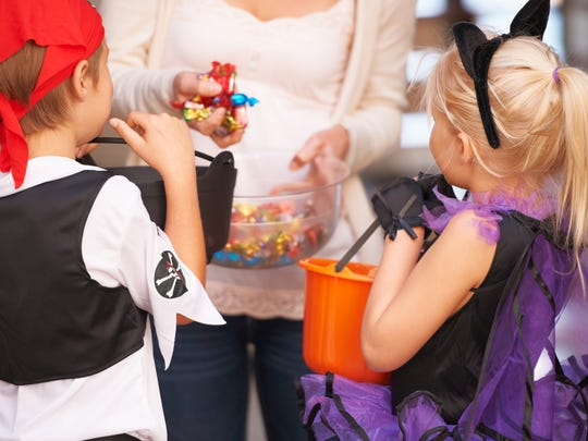 Kids like getting a lot of candy on Halloween, but they don't have to eat it.