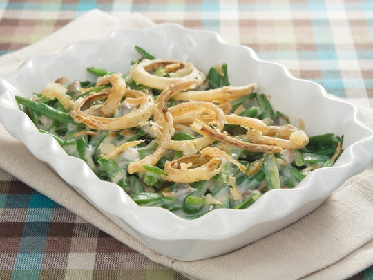Green bean casserole is one of the most beloved Thanksgiving side dishes.