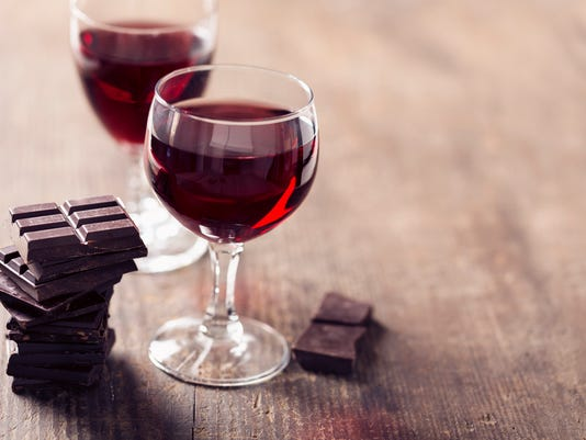 Fantasies in Chocolate. Pairing wine with chocolate.