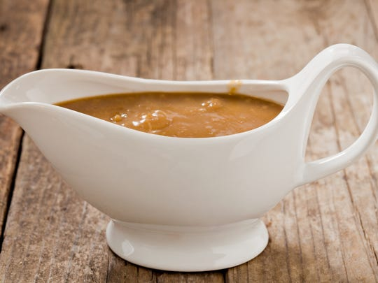 Folks will use at least 1/3 cup gravy each at your Thanksgiving meal.