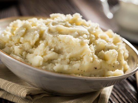 For smoother mashed potatoes, run through a ricer or strainer.