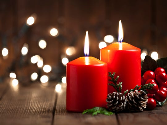 Candlelight worship services set for Christmas.