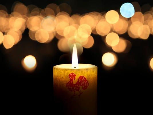 Vigil Candle with General Rainz